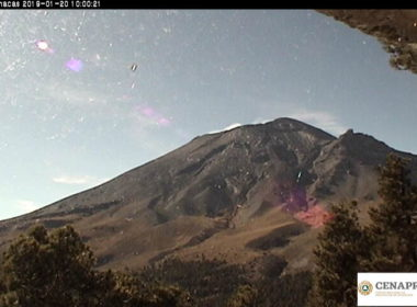 Registran el Popocatépetl 224 exhalaciones