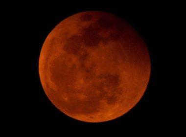 Se producirá en enero la superluna roja