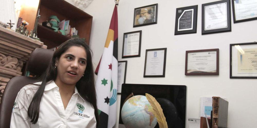 Dafne Almazán, primer menor edad mexicana en Harvard