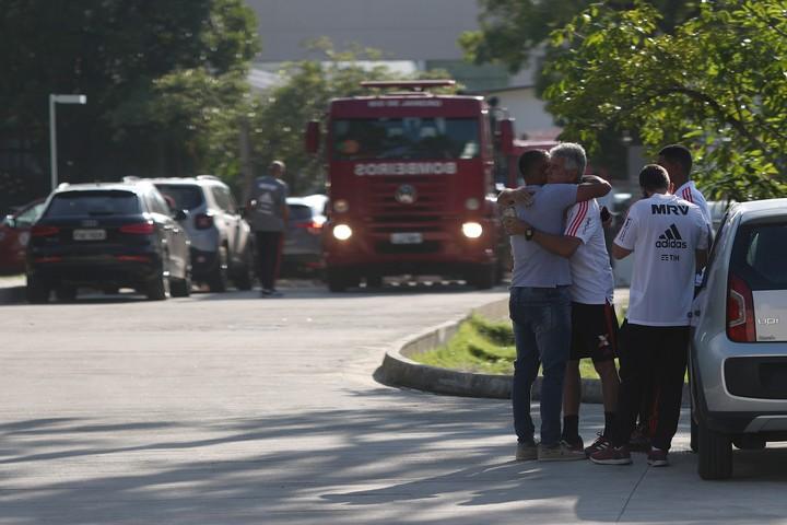 Incendio en instalaciones del Flamengo; 10 muertos
