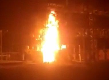 Se incendian instalaciones de CFE en Huetamo