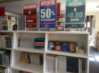 Cerca de 300 ejemplares a bajos precios oferta el FCE en Morelia