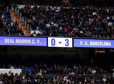 Barcelona golea al Real Madrid