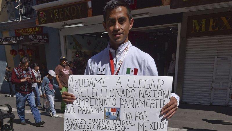 Atleta mexicano pide cooperación para ir a Campeonato Panamericano
