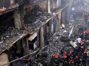 Mueren al menos 70 personas en incendio
