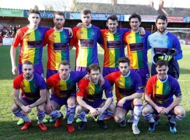 Equipo de futbol se suma contra la homofobia