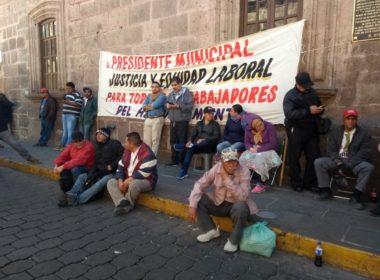 """""""Más ilegal quitarle el salario al trabajador"""": SIDEMM a Ayuntamiento de Morelia"""