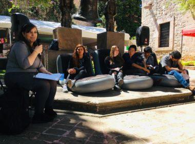 Conectar con el espectador, la principal misión del poeta: Teresa Pouché