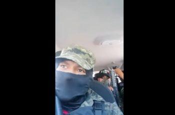 Amenazan presuntos integrantes del CJNG a ladrones