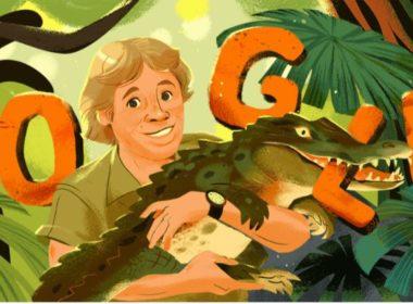 """Google celebra a el """"cazador de cocodrilos"""""""