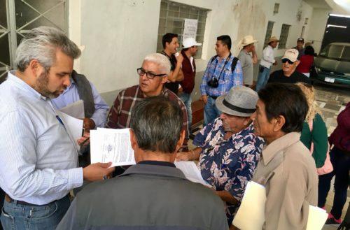 Comunidades demandan presupuestos participativos: Alfredo Ramírez