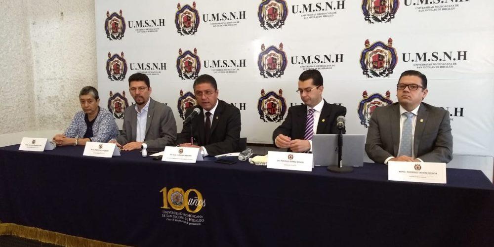 UMSNH prevé un ahorro de 150 millones con plan de contención
