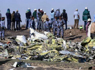 Recuperan cajas negras del accidente aéreo en Etiopía