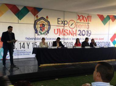 """Cerca de 15 mil estudiantes buscarán opciones de universidad en """"Exporienta UMSNH 2019"""""""