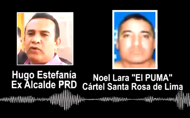 Perredista acuerda robo de recursos con integrante del Cartel de Santa Rosa de Lima