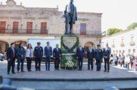 A reforzar ideales de Juárez, urge GP de Morena