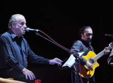 A sus 83, Óscar Chávez debuta en el Vive Latino