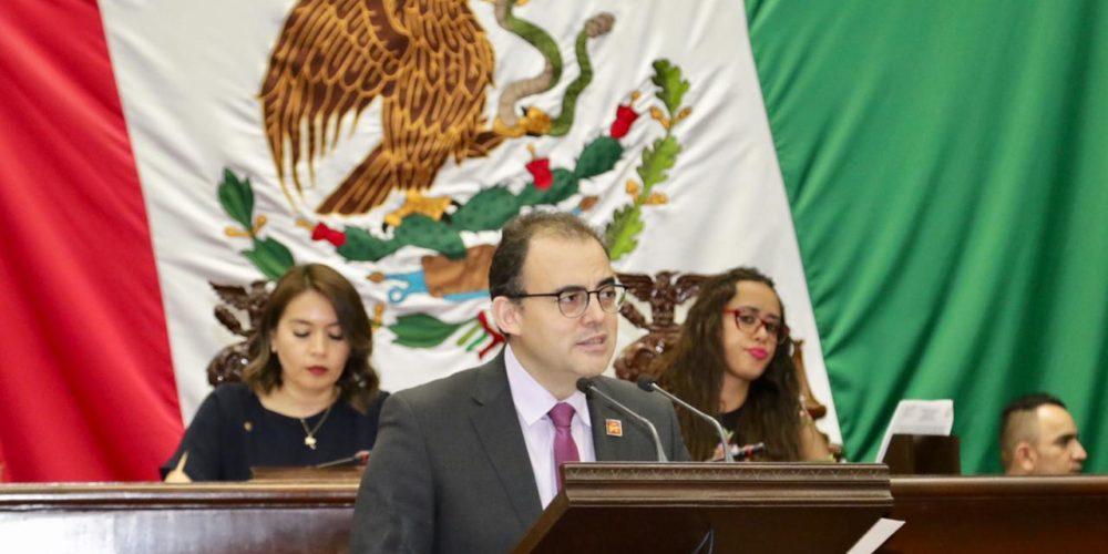 Urge Balta Gaona Jr. libertad de asociación en el Congreso del Estado