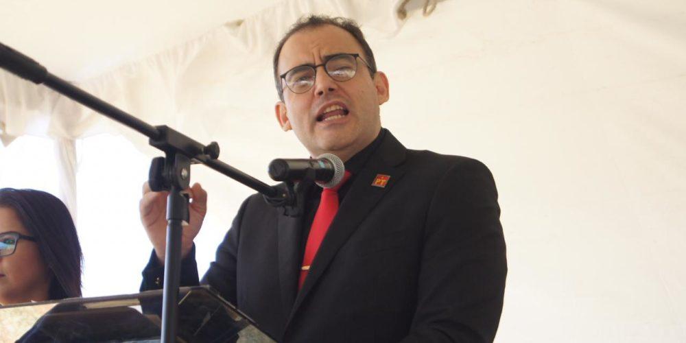 Baltazar Gaona se pronuncia por el cuidado del agua