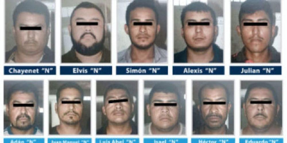 Detienen a 11 integrantes del CJNG en Guerrero