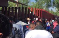 Diputados suspenden sesión en San Lázaro por acto de la CNTE