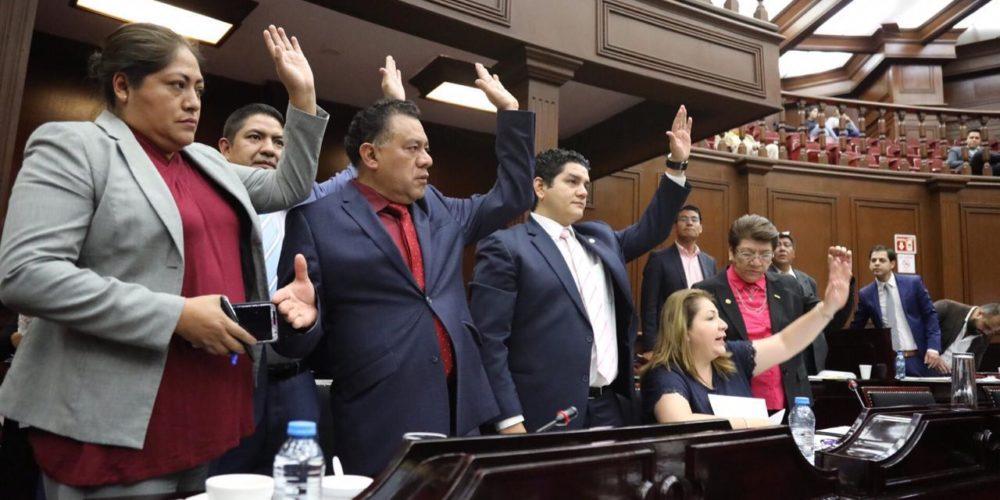 Consigue Morena ampliación de delitos para aplicación de prisión preventiva en Michoacán
