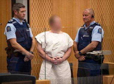 Atacante de mezquitas, comparece ante tribunal