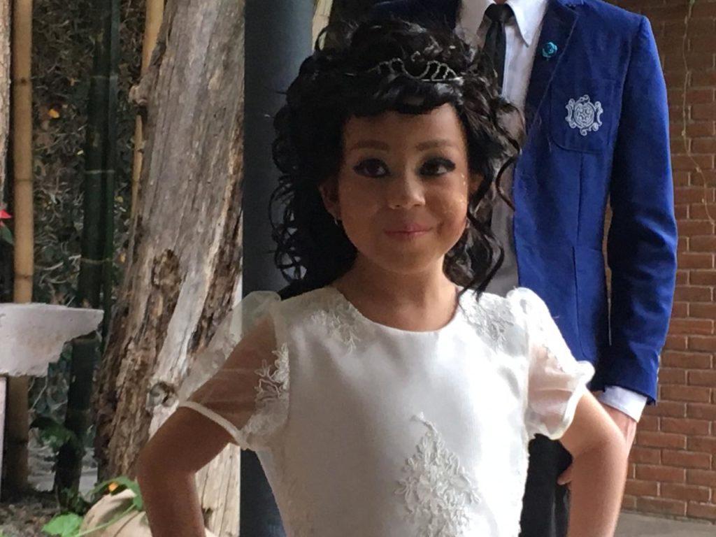 Niña con leucemia cumple su sueño de ser modelo