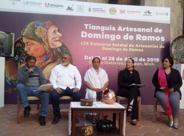 Cerca de 1300 artesanos participarán en el Tianguis Artesanal 2019