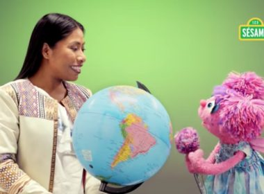 Plaza Sésamo realiza vídeo junto a Yalitza Aparicio
