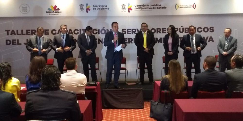 Michoacán cuarto estado en implementar juicios en línea en materia administrativa