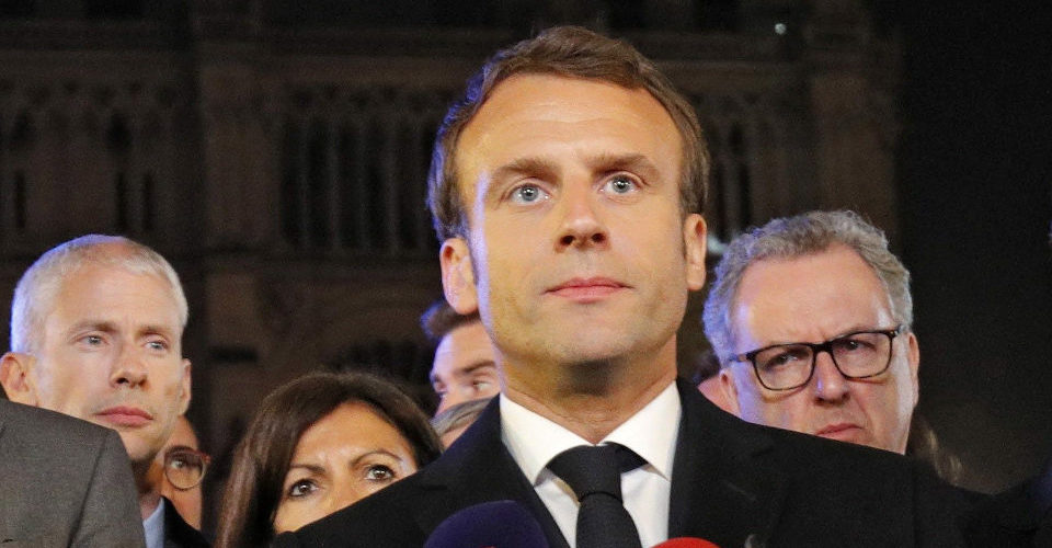 Reconstruiremos Notre Dame: Macron