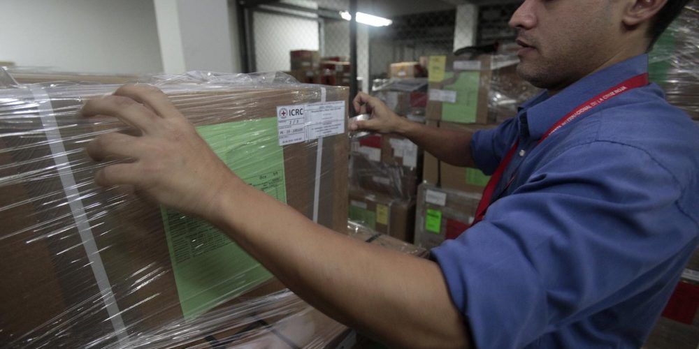 Recibe Venezuela primer apoyo de la Cruz Roja
