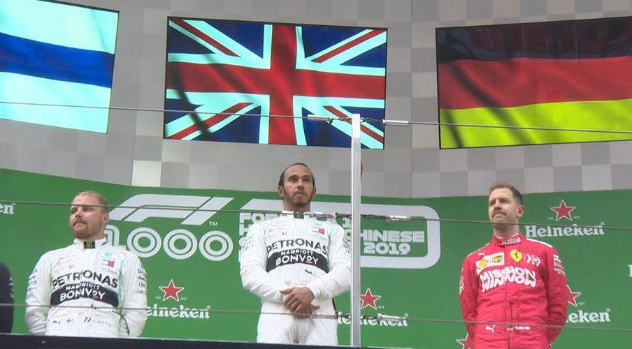 Gana Lewis Hamilton Gran Premio de China