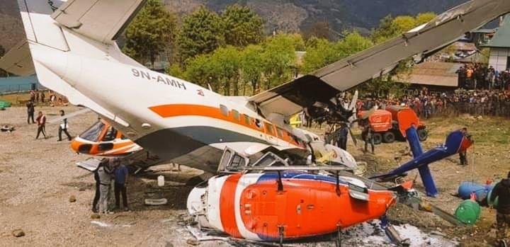 Al menos tres muertos tras accidente aéreo en el Everest