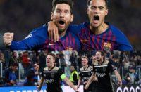 Barcelona y Ajax a semifinales de la Champions