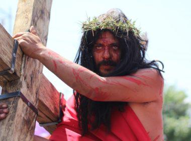 Viacrucis de la Juárez, representación real de la pasión y muerte de Jesús