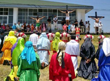 Centros Penitenciarios realizan representación de Viacrucis