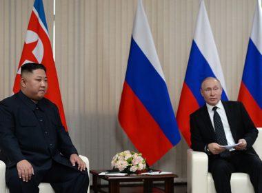 Inicia encuentro entre presidentes de Rusia y Corea del Norte