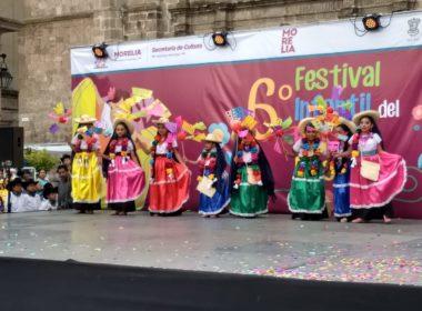 720 niños participan en el sexto festival infantil del folklore nacional