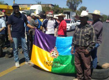 Con tomas carreteras, Consejo Supremo Indígena exige respeto a sus derechos