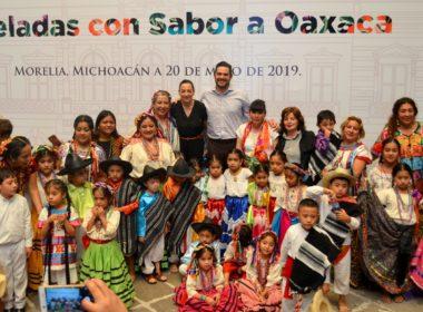 Inauguran Pinceladas con Sabor a Oaxaca