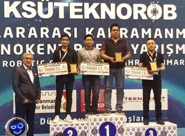 Mexicanos ganan medalla de oro en torneo de robótica en Turquía