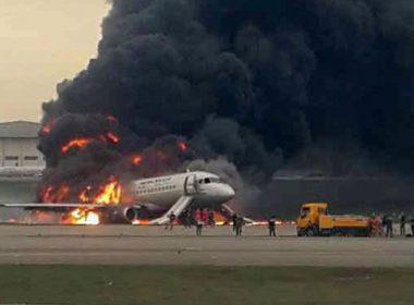 Accidente aéreo deja al menos 13 muertos