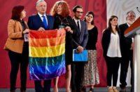Garantiza AMLO derechos para la comunidad LGBT