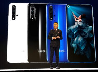 Huawei presenta su Honor 20, pese a 'lista negra' de EE.UU