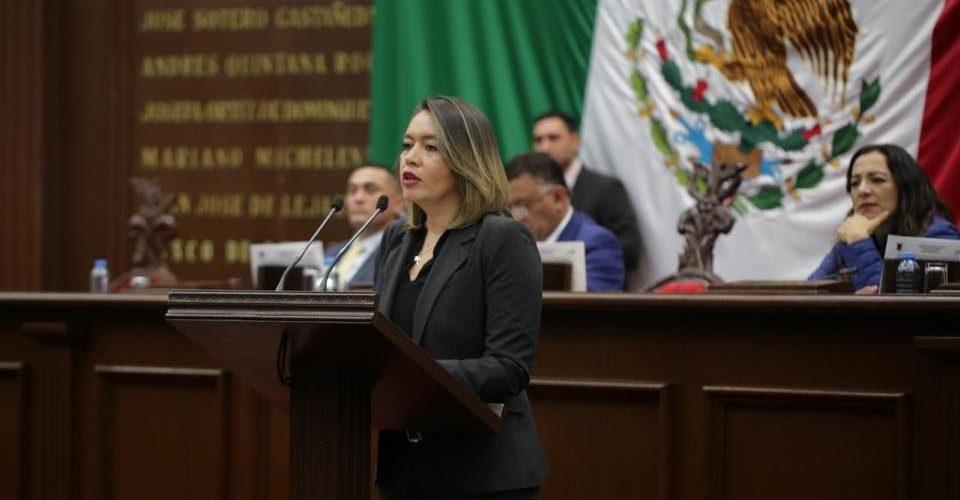 Propone Yarabí nueva Ley Orgánica para Legislativo