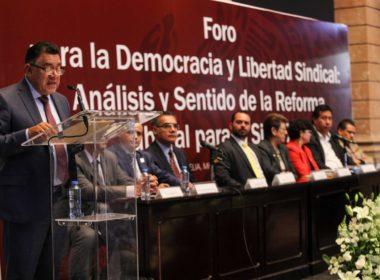 Impulsa GP de Morena armonización de Reforma Laboral en Michoacán