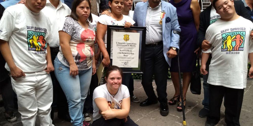 Seguiré luchando por la inclusión en Michoacán: Luis Ventura de la Rosa
