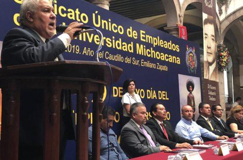 Situación financiera de la UM responsabilidad de rector y no de sindicatos